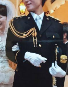 警察官、結婚式、挙式、制服