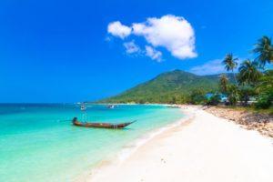 海外旅行、警察官、パンガン島、タイ