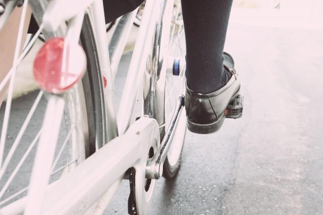 警察、職務質問、自転車