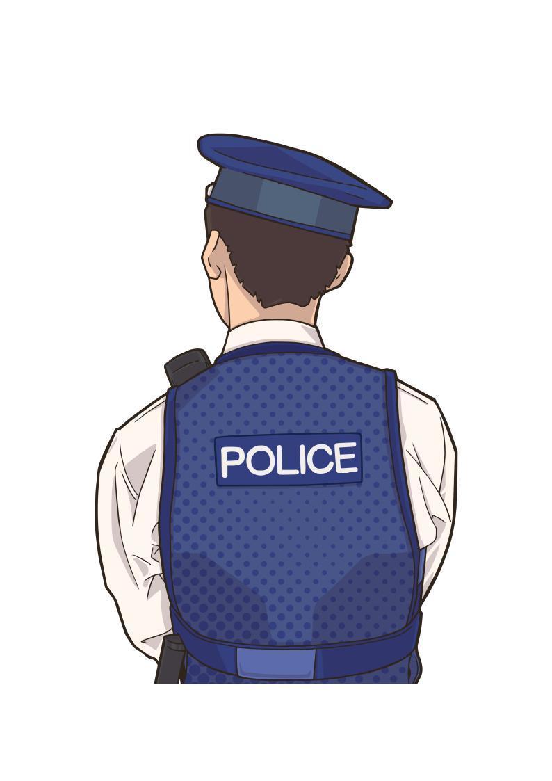 地域課、警察官