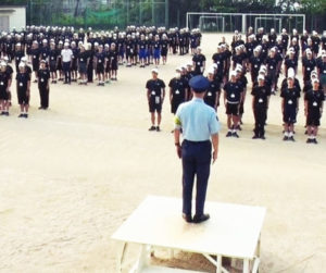 警察学校の教官